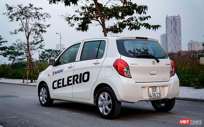 Suzuki Celerio 1.0 CVT: Nhỏ mà vẫn rộng, lái thì khó chê ảnh 3