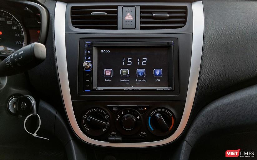 Suzuki Celerio 1.0 CVT: Nhỏ mà vẫn rộng, lái thì khó chê ảnh 18