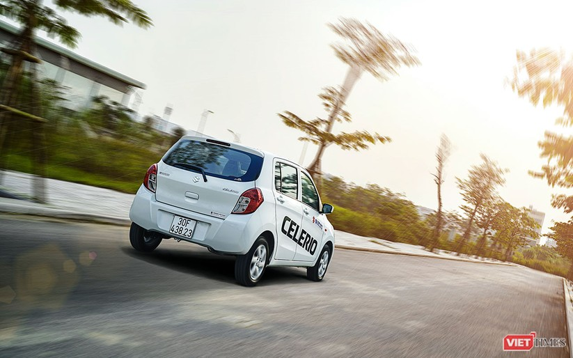 Suzuki Celerio 1.0 CVT: Nhỏ mà vẫn rộng, lái thì khó chê ảnh 25