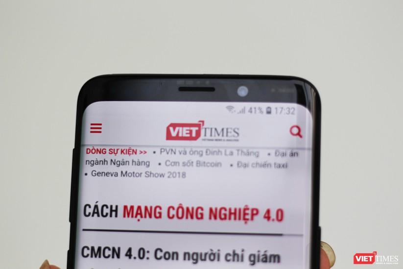 Trên tay chiếc Galaxy S9 xuất hiện tại Việt Nam ảnh 3