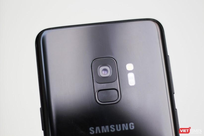 Trên tay chiếc Galaxy S9 xuất hiện tại Việt Nam ảnh 4