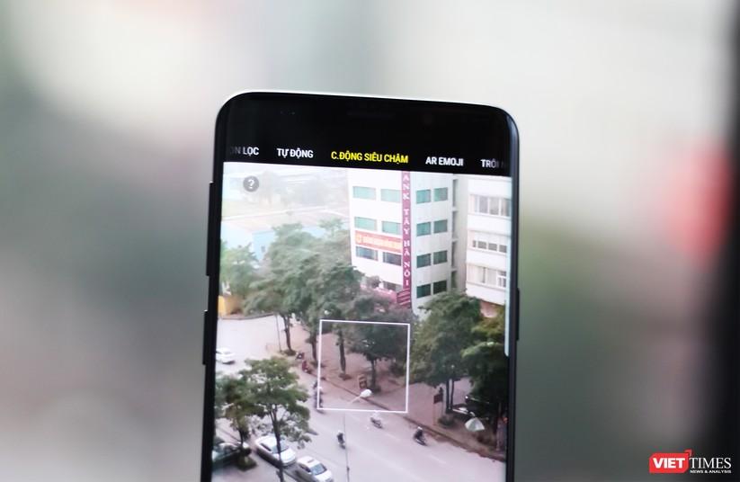 Trên tay chiếc Galaxy S9 xuất hiện tại Việt Nam ảnh 5