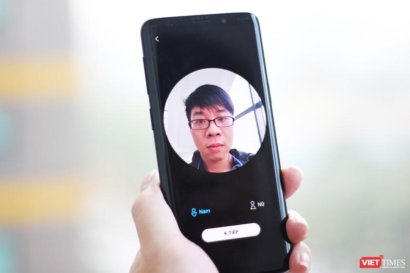 Trên tay chiếc Galaxy S9 xuất hiện tại Việt Nam ảnh 6