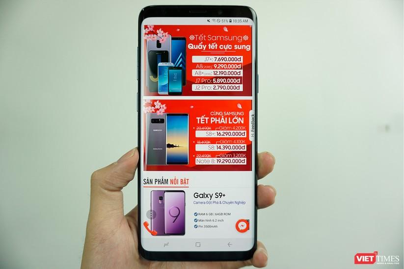 Mở hộp Galaxy S9+ phiên bản 256 GB duy nhất tại Việt Nam ảnh 6