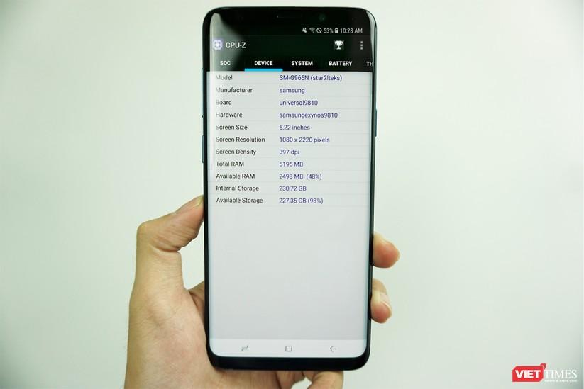 Mở hộp Galaxy S9+ phiên bản 256 GB duy nhất tại Việt Nam ảnh 12