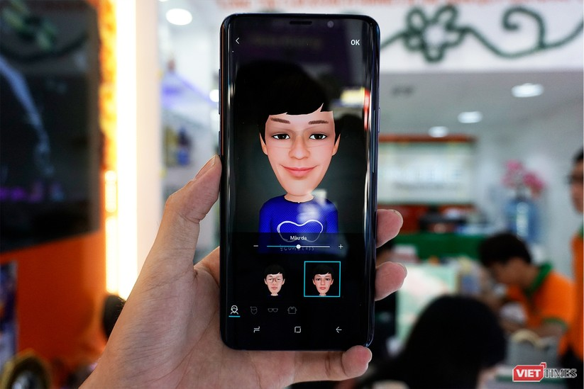 Mở hộp Galaxy S9+ phiên bản 256 GB duy nhất tại Việt Nam ảnh 15