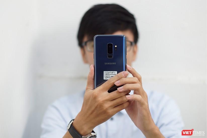 Mở hộp Galaxy S9+ phiên bản 256 GB duy nhất tại Việt Nam ảnh 16