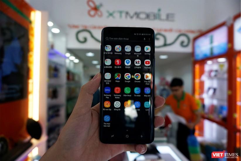 Mở hộp Galaxy S9+ phiên bản 256 GB duy nhất tại Việt Nam ảnh 7