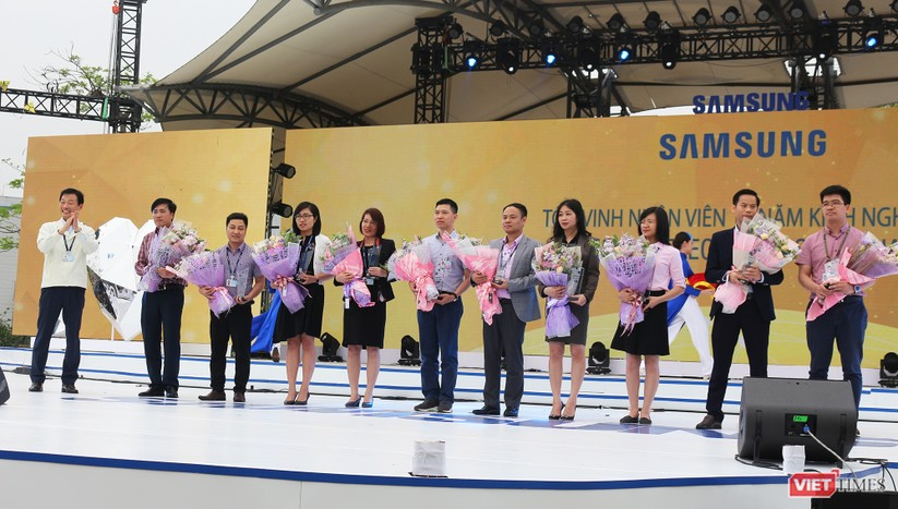 Toàn cảnh lễ kỷ niệm 10 năm Samsung Electronics phát triển vượt kỳ tích tại Việt Nam ảnh 12