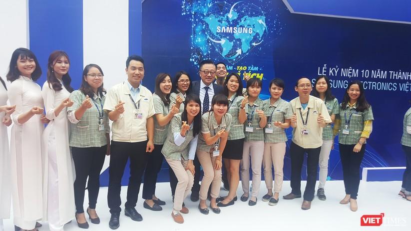 Toàn cảnh lễ kỷ niệm 10 năm Samsung Electronics phát triển vượt kỳ tích tại Việt Nam ảnh 19
