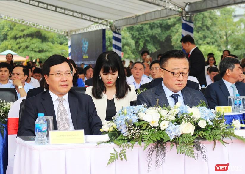 Toàn cảnh lễ kỷ niệm 10 năm Samsung Electronics phát triển vượt kỳ tích tại Việt Nam ảnh 1