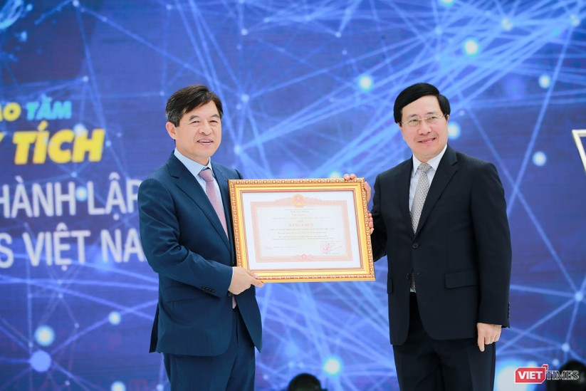 Toàn cảnh lễ kỷ niệm 10 năm Samsung Electronics phát triển vượt kỳ tích tại Việt Nam ảnh 10