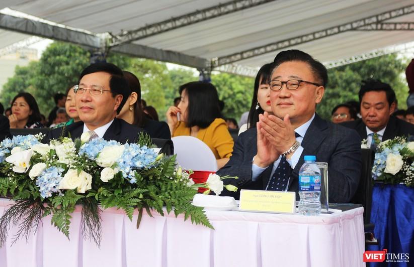 Toàn cảnh lễ kỷ niệm 10 năm Samsung Electronics phát triển vượt kỳ tích tại Việt Nam ảnh 2
