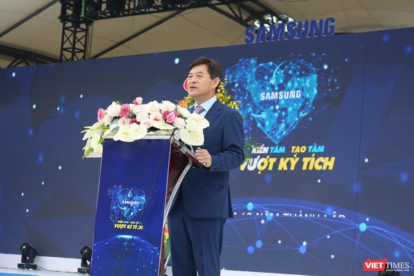 Toàn cảnh lễ kỷ niệm 10 năm Samsung Electronics phát triển vượt kỳ tích tại Việt Nam ảnh 7