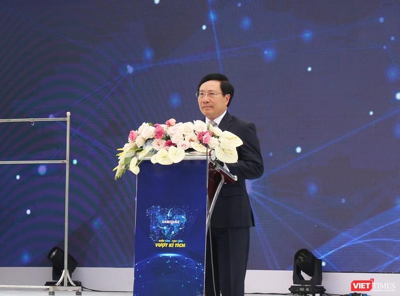 Toàn cảnh lễ kỷ niệm 10 năm Samsung Electronics phát triển vượt kỳ tích tại Việt Nam ảnh 8