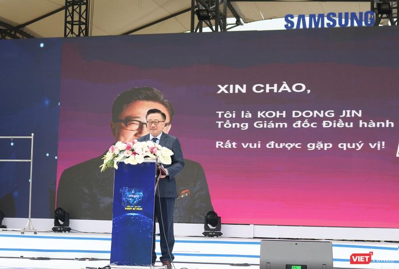 Toàn cảnh lễ kỷ niệm 10 năm Samsung Electronics phát triển vượt kỳ tích tại Việt Nam ảnh 9