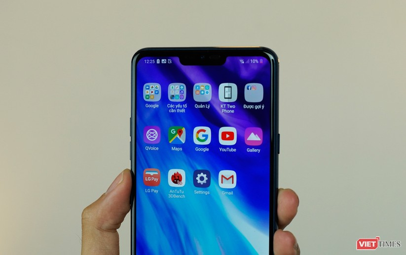 """Trên tay LG G7+ """"Thin Q"""" hàng xách tay về Việt Nam giá 18,9 triệu ảnh 3"""