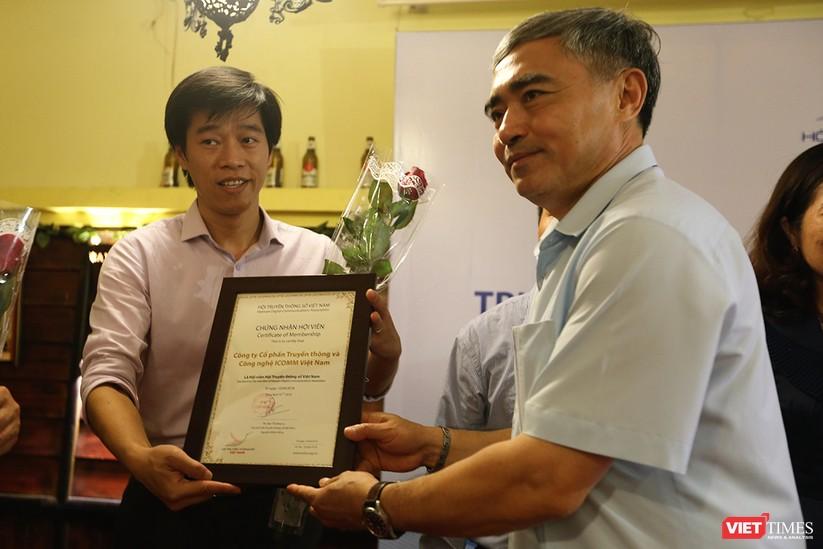 Thêm 7 hội viên tập thể và 1 hội viên cá nhân được kết nạp vào Hội Truyền thông Số Việt Nam ảnh 8