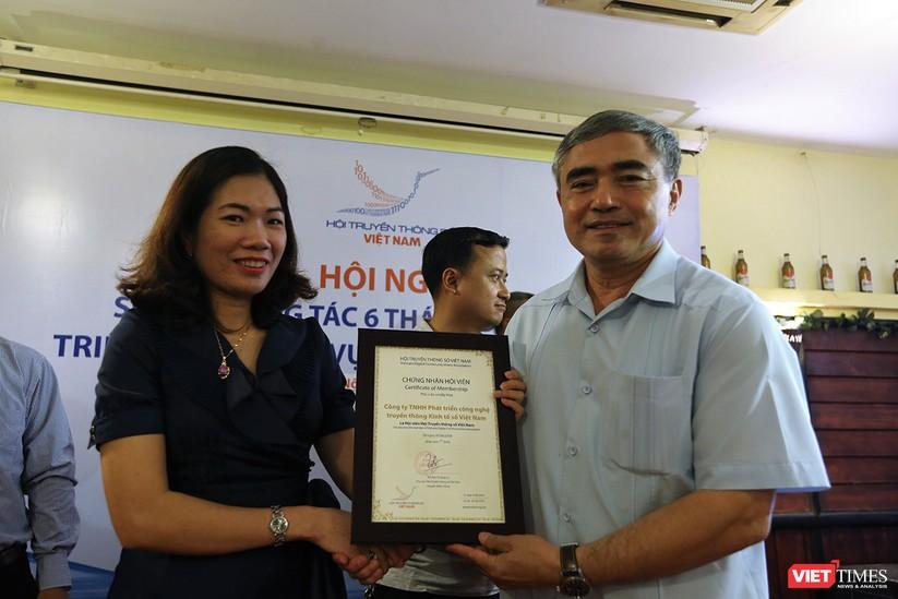 Thêm 7 hội viên tập thể và 1 hội viên cá nhân được kết nạp vào Hội Truyền thông Số Việt Nam ảnh 9