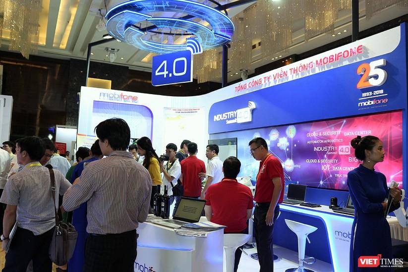 """Chùm ảnh """"Triển lãm Quốc tế về Công nghiệp 4.0"""" tại Việt Nam, nơi có sự hiện diện của robot nổi tiếng Sophia ảnh 16"""
