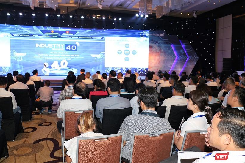 """Chùm ảnh """"Triển lãm Quốc tế về Công nghiệp 4.0"""" tại Việt Nam, nơi có sự hiện diện của robot nổi tiếng Sophia ảnh 29"""