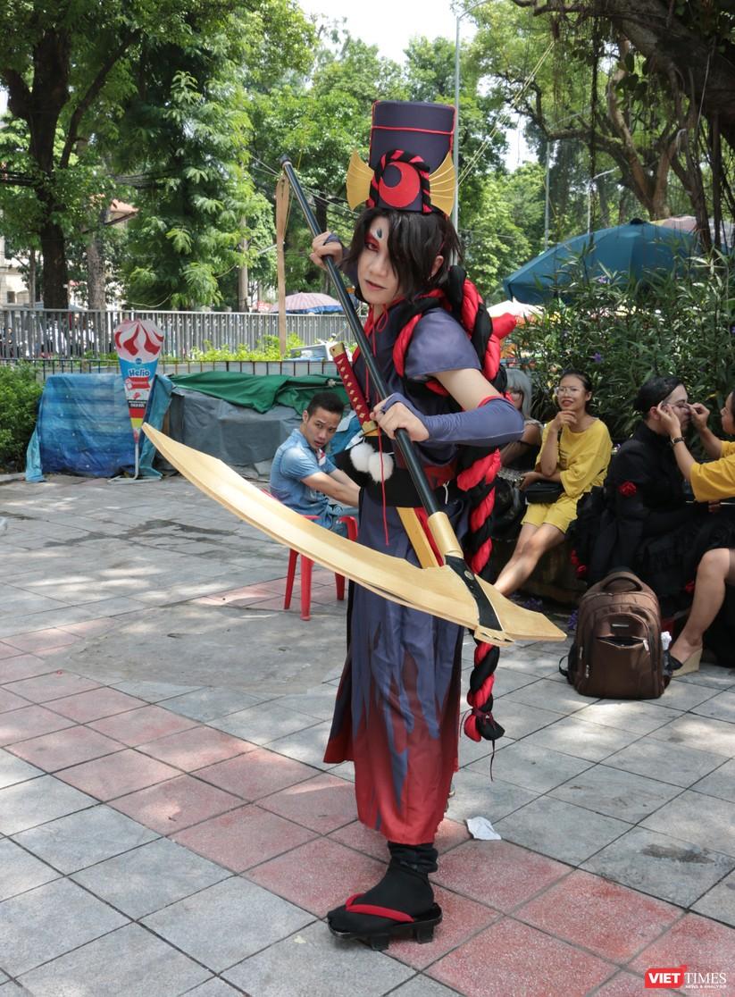 """Rực rỡ sắc màu các bộ trang phục Cosplay trong lễ hội văn hóa Nhật Bản """"Ichigo Ichie 2018"""" tại Hà Nội ảnh 19"""