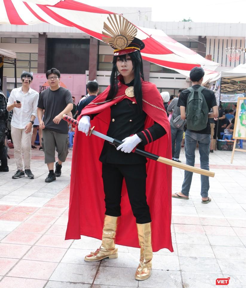 """Rực rỡ sắc màu các bộ trang phục Cosplay trong lễ hội văn hóa Nhật Bản """"Ichigo Ichie 2018"""" tại Hà Nội ảnh 22"""