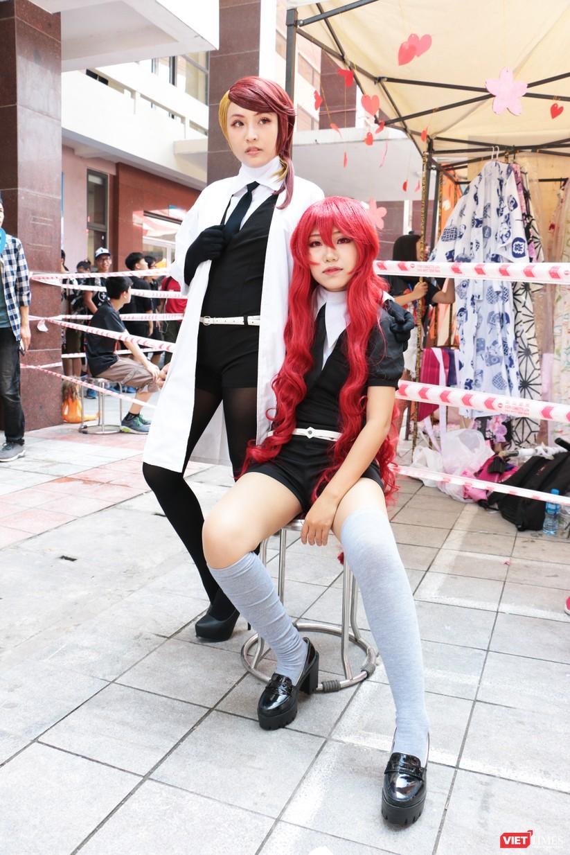 """Rực rỡ sắc màu các bộ trang phục Cosplay trong lễ hội văn hóa Nhật Bản """"Ichigo Ichie 2018"""" tại Hà Nội ảnh 27"""