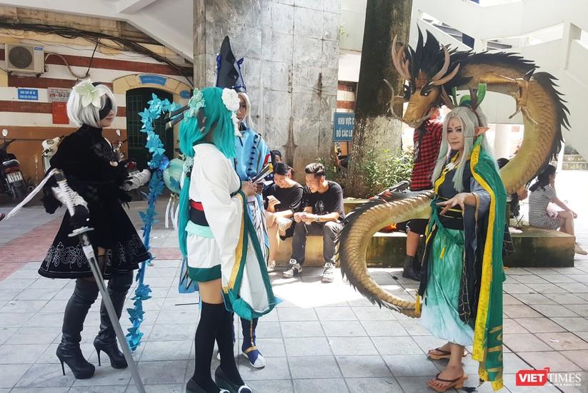 """Rực rỡ sắc màu các bộ trang phục Cosplay trong lễ hội văn hóa Nhật Bản """"Ichigo Ichie 2018"""" tại Hà Nội ảnh 7"""