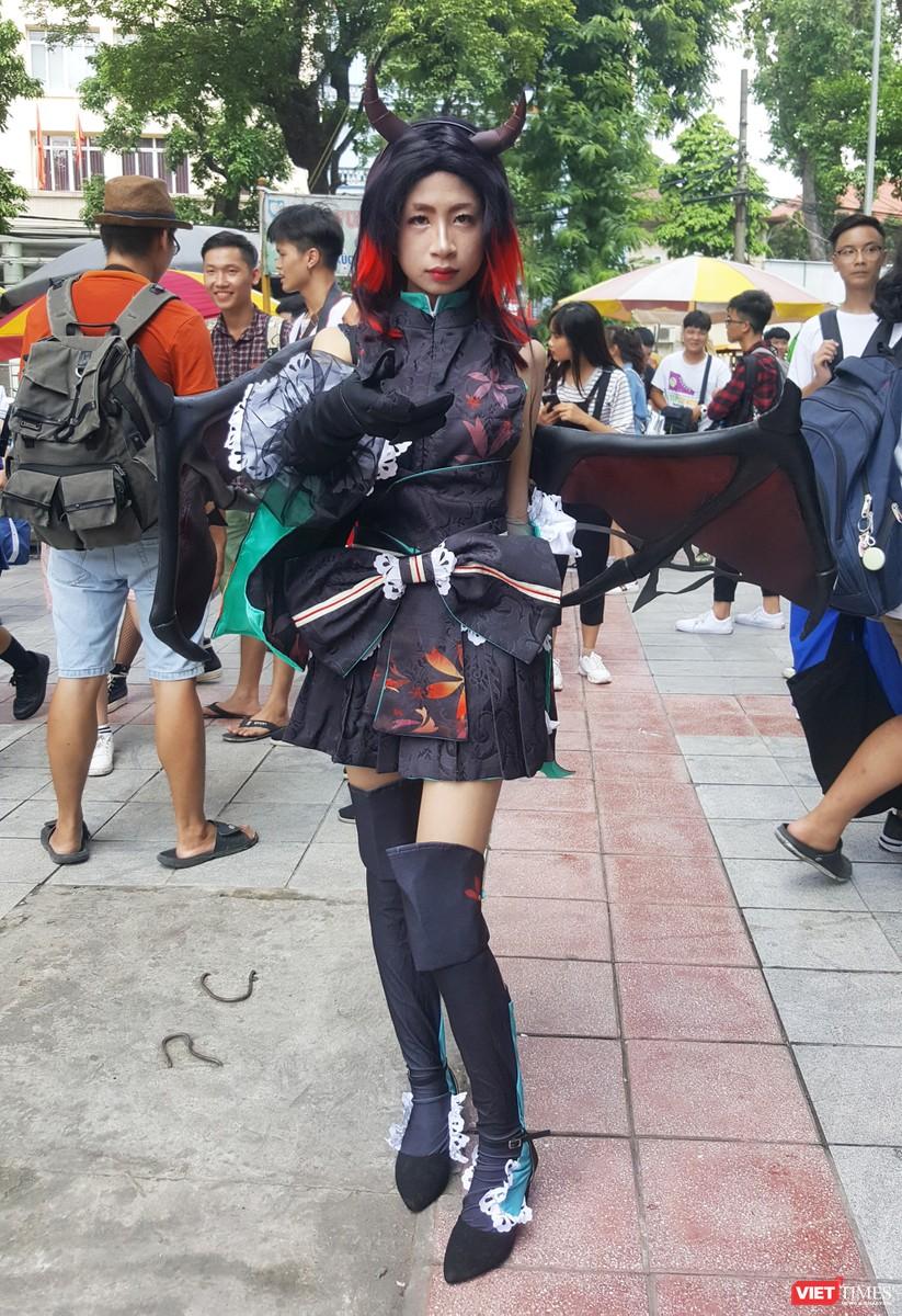 """Rực rỡ sắc màu các bộ trang phục Cosplay trong lễ hội văn hóa Nhật Bản """"Ichigo Ichie 2018"""" tại Hà Nội ảnh 8"""