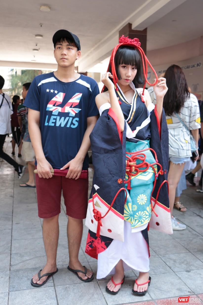 """Rực rỡ sắc màu các bộ trang phục Cosplay trong lễ hội văn hóa Nhật Bản """"Ichigo Ichie 2018"""" tại Hà Nội ảnh 31"""