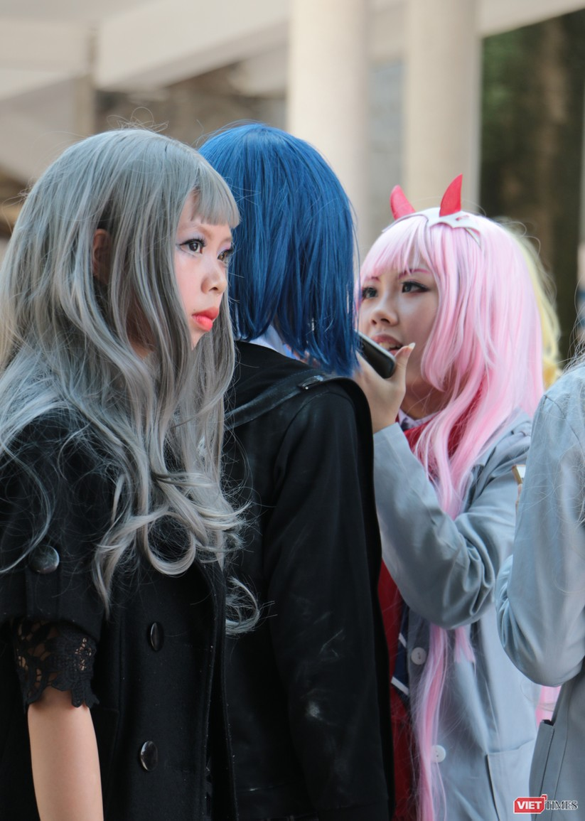 """Rực rỡ sắc màu các bộ trang phục Cosplay trong lễ hội văn hóa Nhật Bản """"Ichigo Ichie 2018"""" tại Hà Nội ảnh 33"""