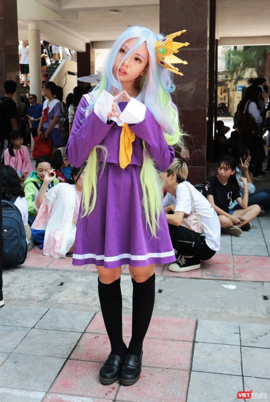 """Rực rỡ sắc màu các bộ trang phục Cosplay trong lễ hội văn hóa Nhật Bản """"Ichigo Ichie 2018"""" tại Hà Nội ảnh 37"""