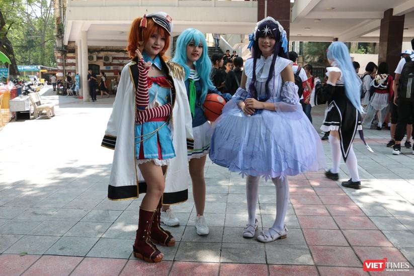 """Rực rỡ sắc màu các bộ trang phục Cosplay trong lễ hội văn hóa Nhật Bản """"Ichigo Ichie 2018"""" tại Hà Nội ảnh 42"""