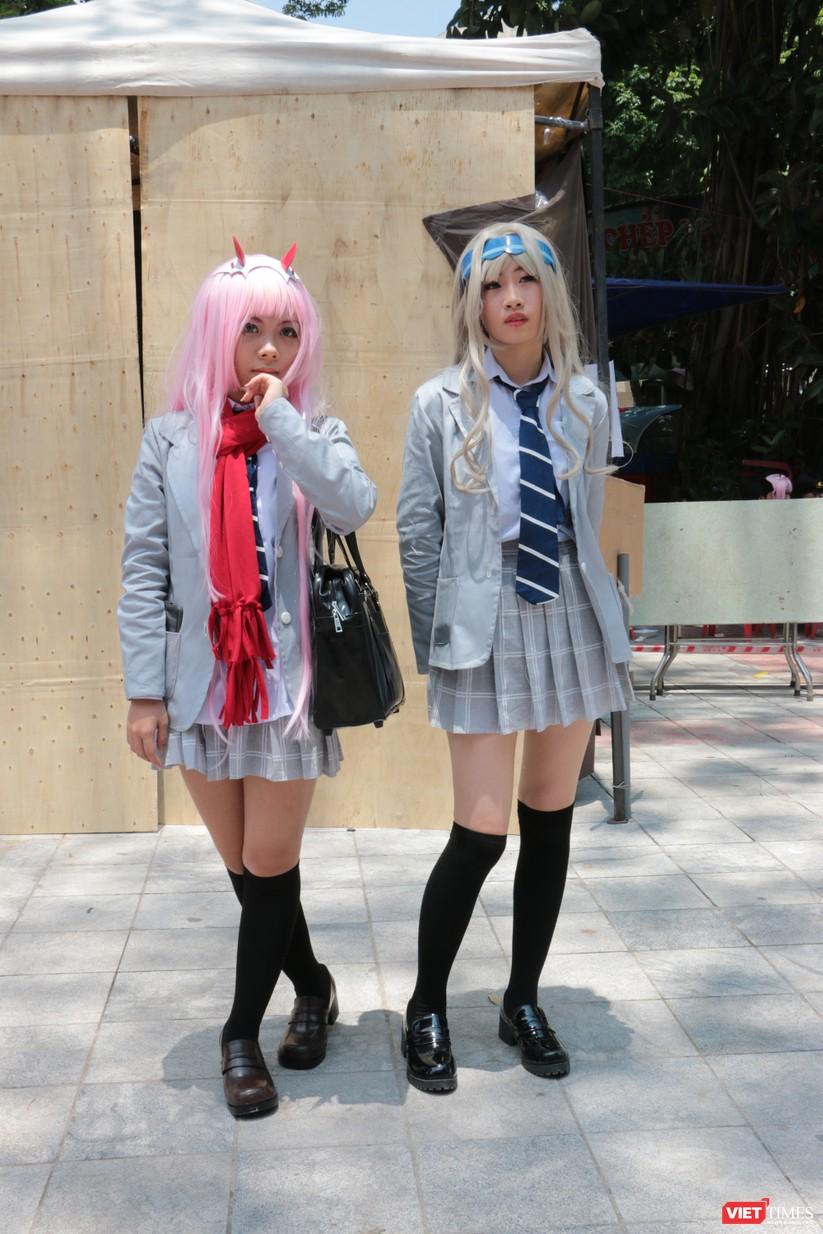 """Rực rỡ sắc màu các bộ trang phục Cosplay trong lễ hội văn hóa Nhật Bản """"Ichigo Ichie 2018"""" tại Hà Nội ảnh 43"""