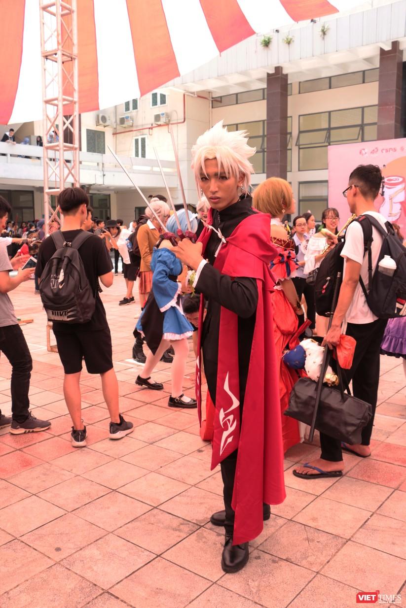 """Rực rỡ sắc màu các bộ trang phục Cosplay trong lễ hội văn hóa Nhật Bản """"Ichigo Ichie 2018"""" tại Hà Nội ảnh 45"""