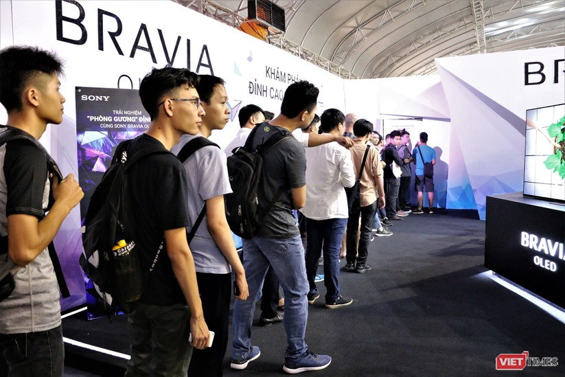 Trải nghiệm các thiết bị công nghệ tại Sony Show 2018 ảnh 45
