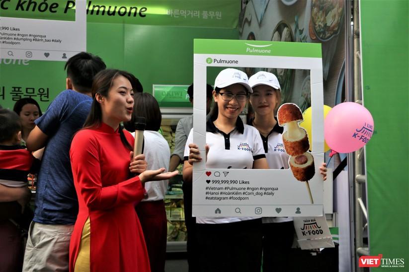 Hàng chục nghìn người chen chúc tham dự lễ hội văn hóa và ẩm thực Hàn - Việt tại phố đi bộ Hồ Gươm ảnh 15