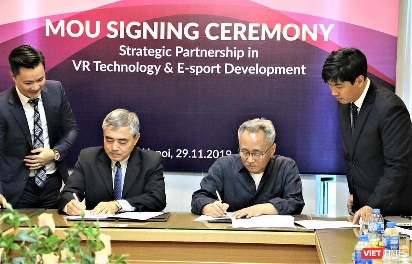 Việt Nam - Hàn Quốc ký bản ghi nhớ hợp tác phát triển công nghiệp nội dung Thực tế ảo và Thể thao điện tử ảnh 1