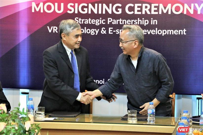 Việt Nam - Hàn Quốc ký bản ghi nhớ hợp tác phát triển công nghiệp nội dung Thực tế ảo và Thể thao điện tử ảnh 10