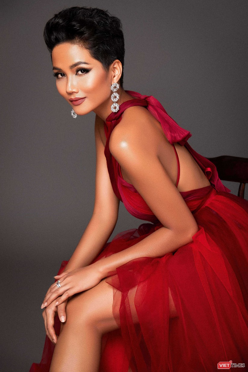 Tết của hoa hậu H'Hen Niê ảnh 2