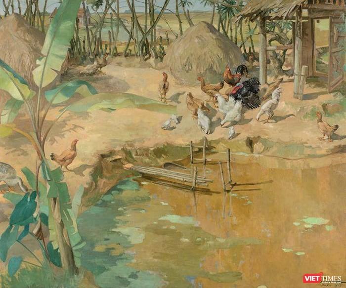 """Tranh của họa sĩ Việt được chuyển giao với giá """"khủng"""" ảnh 1"""