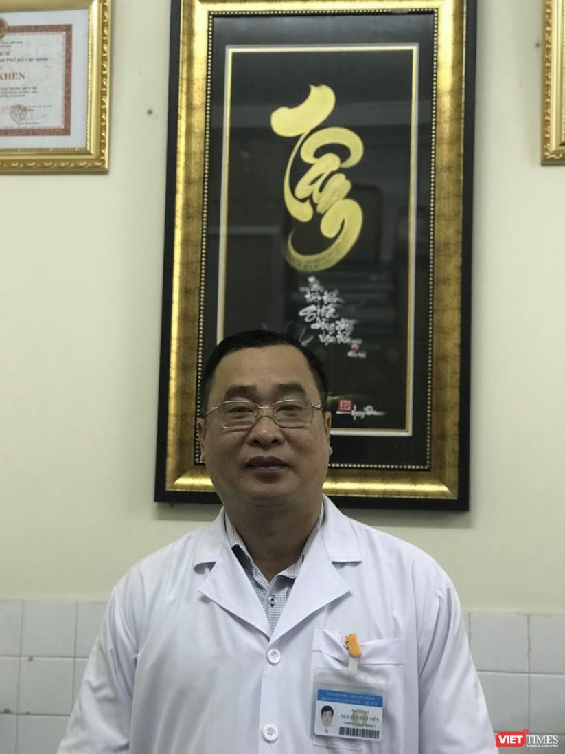 Bác sĩ Nguyễn Văn Tiến - Trưởng khoa