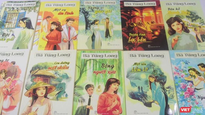 Bà Tùng Long trở lại văn đàn Việt với 10 đầu sách hot ảnh 1