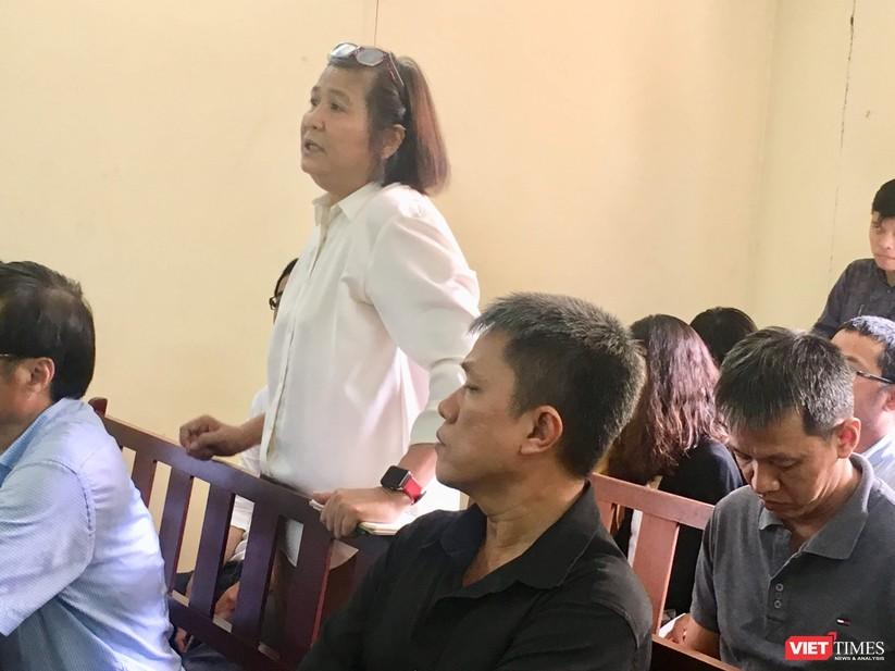 Bà Phan Thị Mỹ Hạnh có ý kiến tại phiên xử sáng 20/8