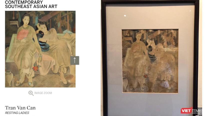 Nhà đấu giá Sotheby's Hong Kong hạ hai bức tranh lùm xùm ảnh 1