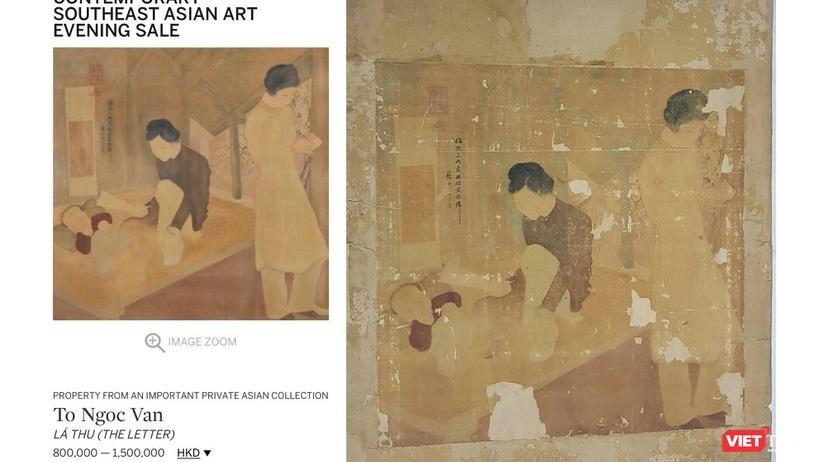 Nhà đấu giá Sotheby's Hong Kong hạ hai bức tranh lùm xùm ảnh 2