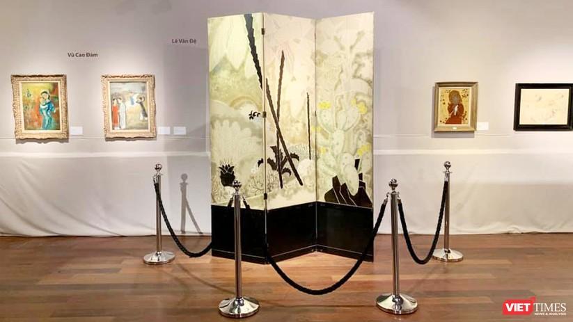 Bức tranh của họa sĩ Lê Văn Đệ đã bán ra thành công giá hơn 9,3 tỷ đồng