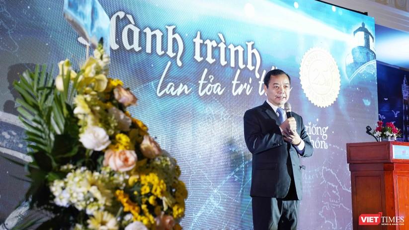 Ông Nguyễn Văn Phước phát biểu tại buổi lễ Kỷ niệm 25 năm tối qua 22/12
