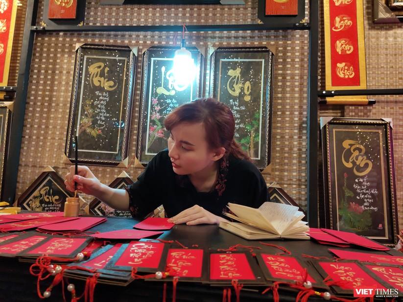 Náo nhiệt phố ông đồ Tết Festival đón xuân Canh Tý 2020 ảnh 3